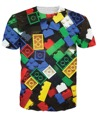 Summer Style Lego Bricks T-Shirt super popular children's toy 3d print t shirt camisetas for Unisex Women Men Plus Size S-XXL