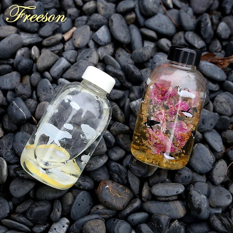 Kreatif Kutub Bear Penguin Kaca Botol Air Cute Haiwan Botol Ais - Dapur, makan dan bar - Foto 6