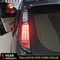Автомобильный Стайлинг для Ford focus 2005 2013 Фокус задние фонари светодиодная сигнальная лампа задний фонарь светодиодные задние фары Certa задний