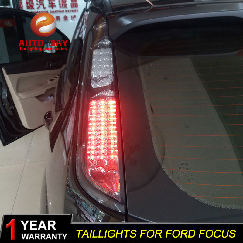 Car Styling for Ford focus 2005 2013 Focus taillights TAIL Lights LED Tail Light LED Rear Lamp Certa taillight Automobile
