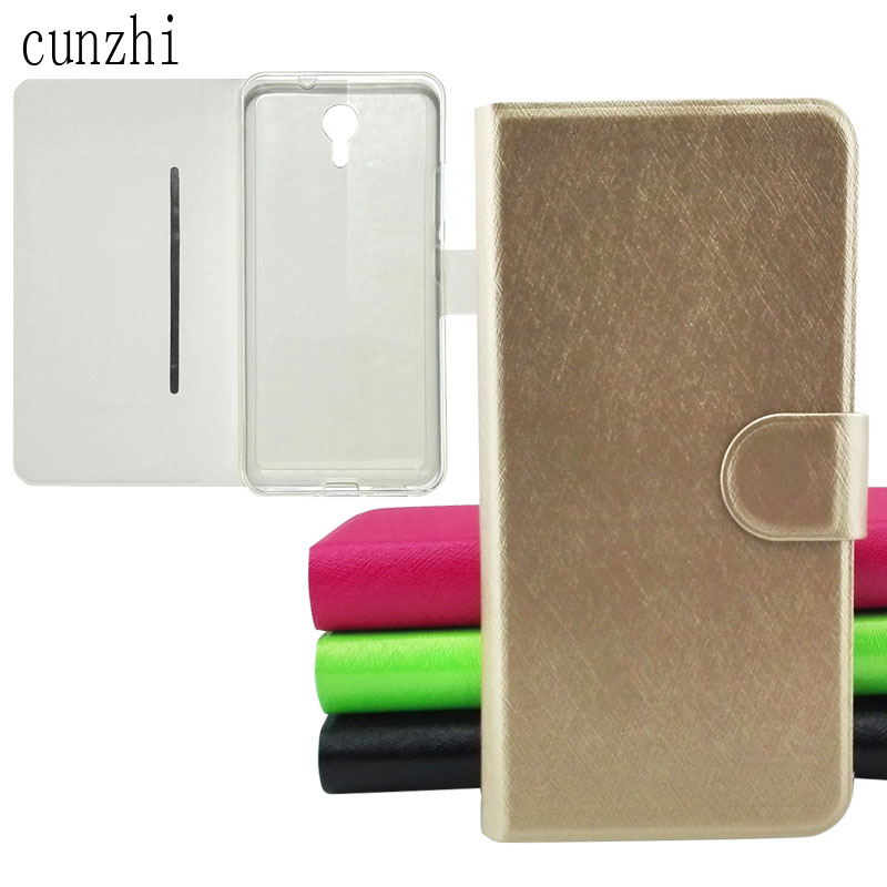 cunzhi (Gift Protector Film) Ulefone Power 2 Case, Soft TPU Shell Inner + PU Leather Flip Back Case Cover For Ulefone Power2