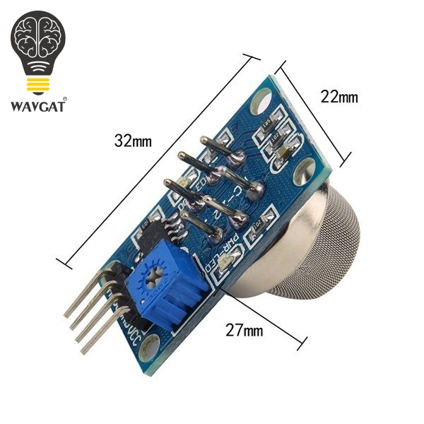 US $0 87 11% OFF|MQ 2 MQ2 Smoke Gas LPG Butane Hydrogen Gas Sensor Detector  Module For Arduino-in Sensors from Electronic Components & Supplies on