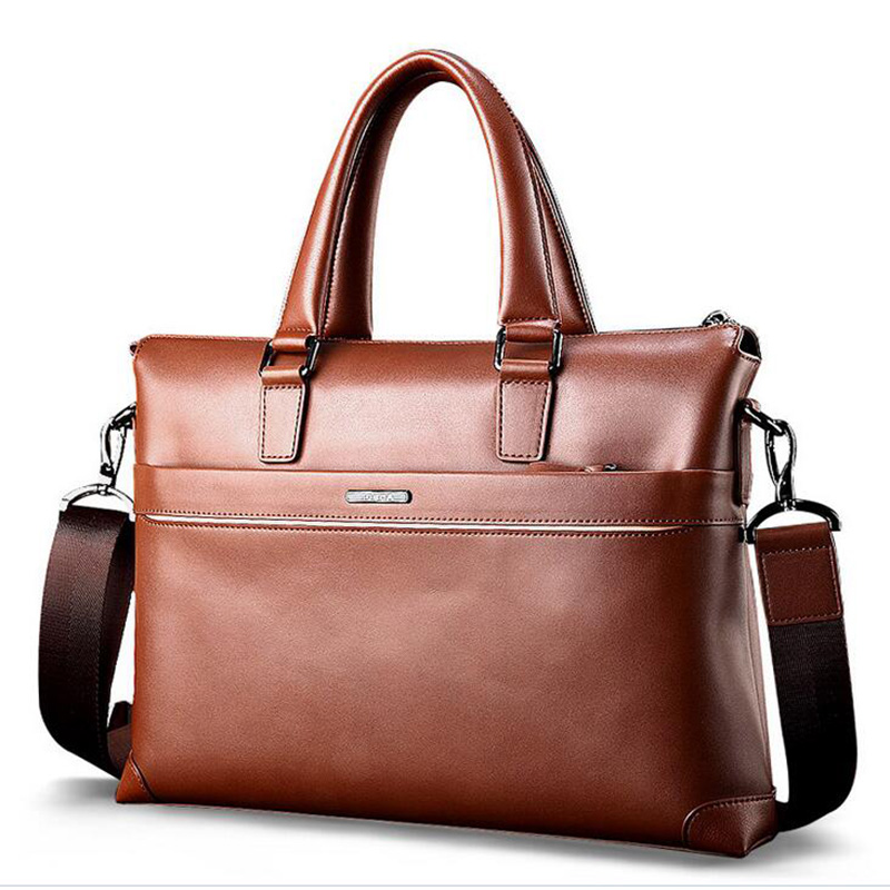 New style For Apple Laptop Bags 14  Air Macbook pro Men Laptop Sleeve High quality Genuine leather