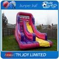 4.5*2.5m  kids inflatable dry wet slide,commercial grade  inflatable slip n slide