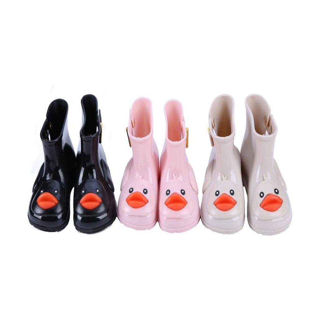 2018 Melissa Donald duck childrens shoes Minnie Mickey sandals rain shoes Four - color length 13 - 18