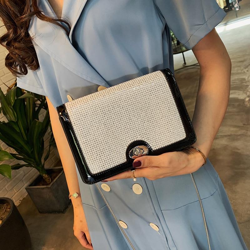 Bolsas de Luxo Bolsas para as Mulheres Bolsas Femininas Designer Moda Corrente Lantejoulas Ombro Crossbody 2020 Pequena Bolsa Mão Feminina
