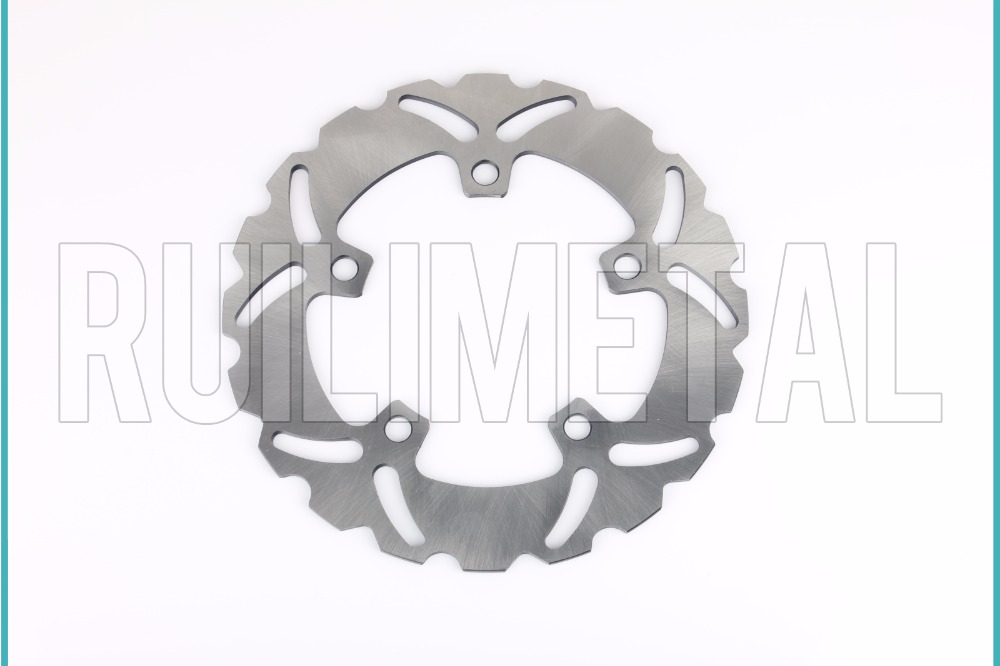 Rear Brake Disc Rotor for YAMAHA YZF R6 R1 600 1000 2004 2005 2006 2007 2008 2009 2010 2011 2012 2013 2014 car rear trunk security shield cargo cover for jeep compass 2007 2008 2009 2010 2011 high qualit auto accessories