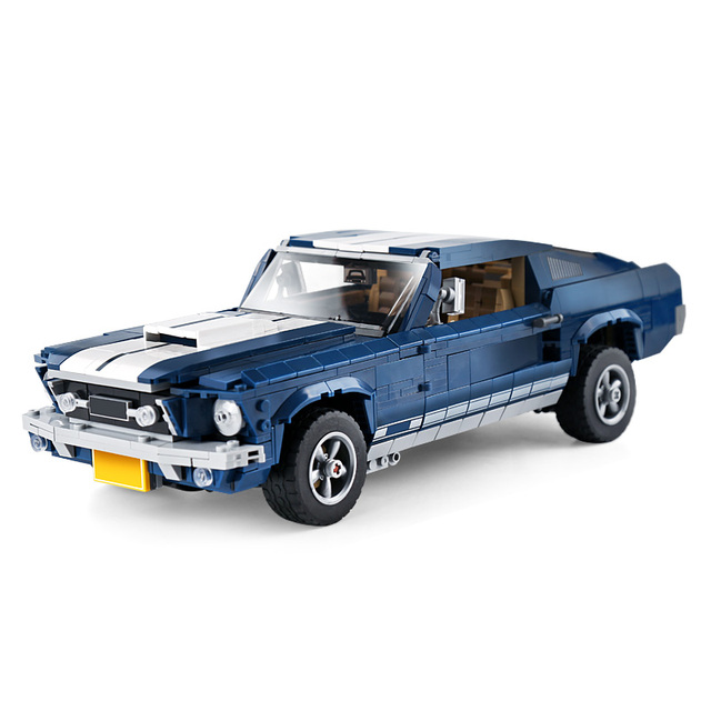 DHL 21047 Technic Toys Series Compatible With Legoing 10265 Mustang Car Set Building Blocks Bricks Car Toys Kids Christmas Gifts