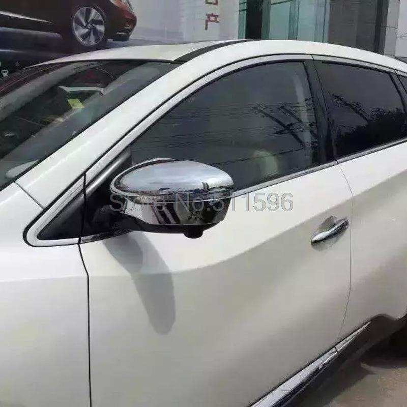 For Nissan Murano 2015 2016 Chrome Side Door Mirror Cover