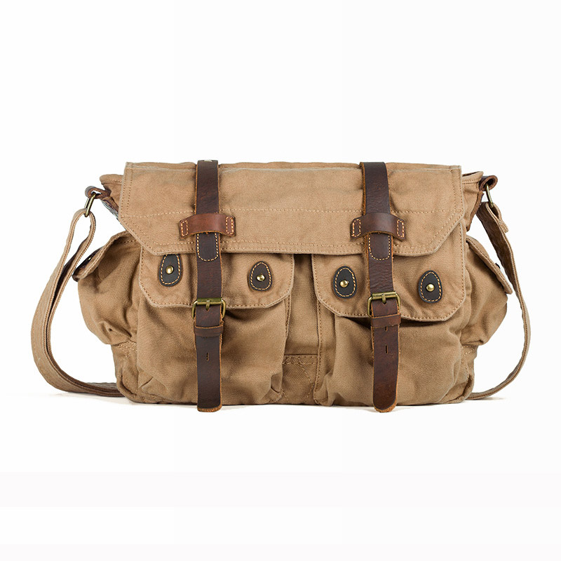Retro Washed Canvas  Men's Crossbody Shoulder Bag Satchel Travel  Laptop Camera Bags Messenger Bags casual canvas women men satchel shoulder bags high quality crossbody messenger bags men military travel bag business leisure bag