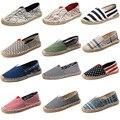 Конопли Веревки Трикотажные Sole Мужская Мужской Обуви Мода Повседневная Обувь Все Матч Случайные Холст Обувь