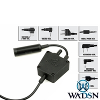Airsoft headset ptt tea E Switch Tactical PTT WZ122