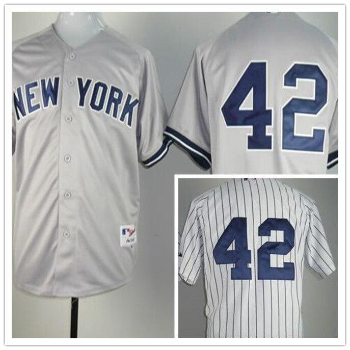 watch 1dd64 9ad7c Cheap Top Quality Mens Baseball Jerseys #42 Mariano Rivera ...