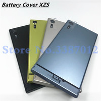Original For Sony Xperia XZS G8231 G8232 Back Battery Glass Cover Rear Door Housing Case With Camera Lens And Logo