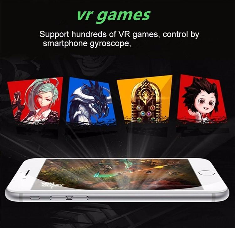 Original VR Shinecon Virtual Reality VR Box 3D VR Glasses Game BOX Google board For 4.0-6.0 Inch smartphone 7