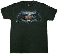 2018 Nhất T Shirts BATMAN VS SUPERMAN Logo Bình Minh Của Công Lý T-Shirt Mới Chính Thức Được Cấp Phép S-3XL Summer Casual Quần Áo