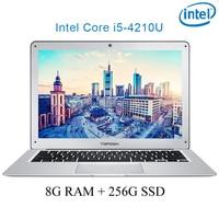 "04 P7-04 8G RAM 256G SSD i5 4210U 14"" Untral-דק מחשב שולחני מחשב נייד מחברת Gaming (1)"