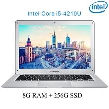 "P7-04 8G RAM 256G SSD i5 4210U 14 Untral-thin notebook Gaming laptop desktop computer"""