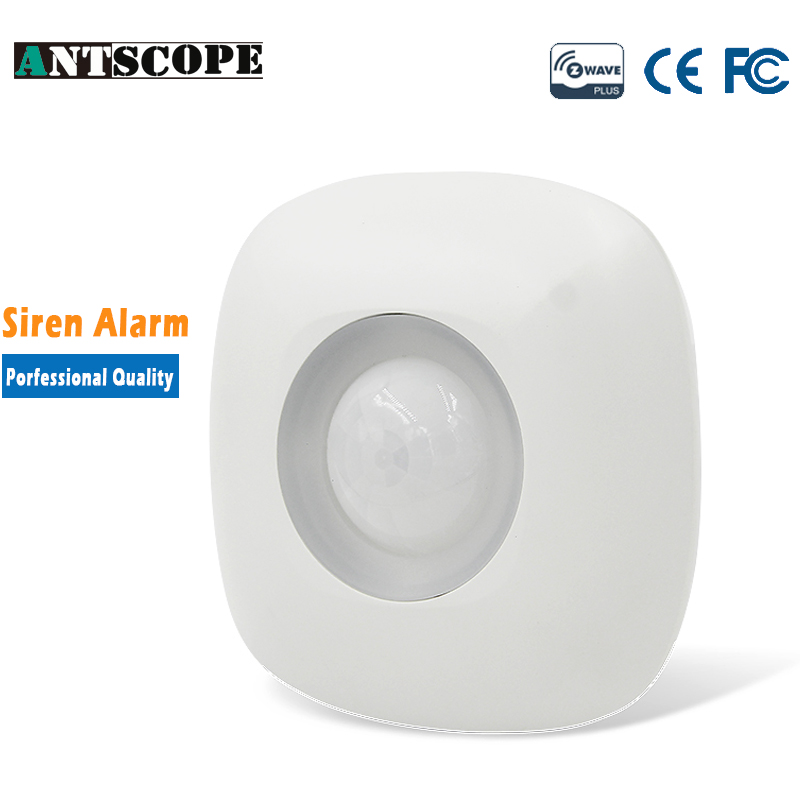 Antscope Z-wave PIR Motion Sensor Alarm Compatible with Z wave Wireless Infrared Smart Home Automation Security Systems neo coolcam nas pd02z new z wave pir motion sensor detector home automation alarm system motion alarm system eu us version