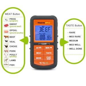 Image 4 - ThermoPro TP06Sอัพเกรดรุ่นDigital Single Probeห้องครัวทำอาหารMeatเครื่องวัดอุณหภูมิจับเวลา/อุณหภูมิ
