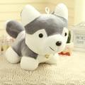20cm 1PC Cute Cartoon Husky Dog Plush Toy Gift For Kids baby toy birthday present Stuffed Plush Toy Free Shipping