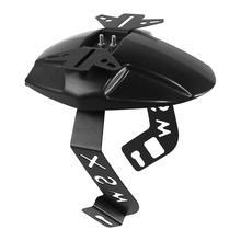 цена на Motorcycle Black Rear Wheel Fender Mudguard w/ Steel Bracket For Honda MSX125 M3