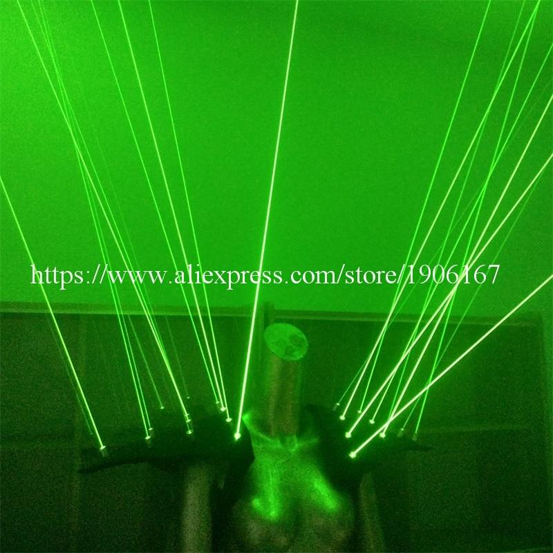 Zeleni laserski prsluk odjeća Laserman prsluk nošnja s 20pcs laseri - Za blagdane i zabave - Foto 3