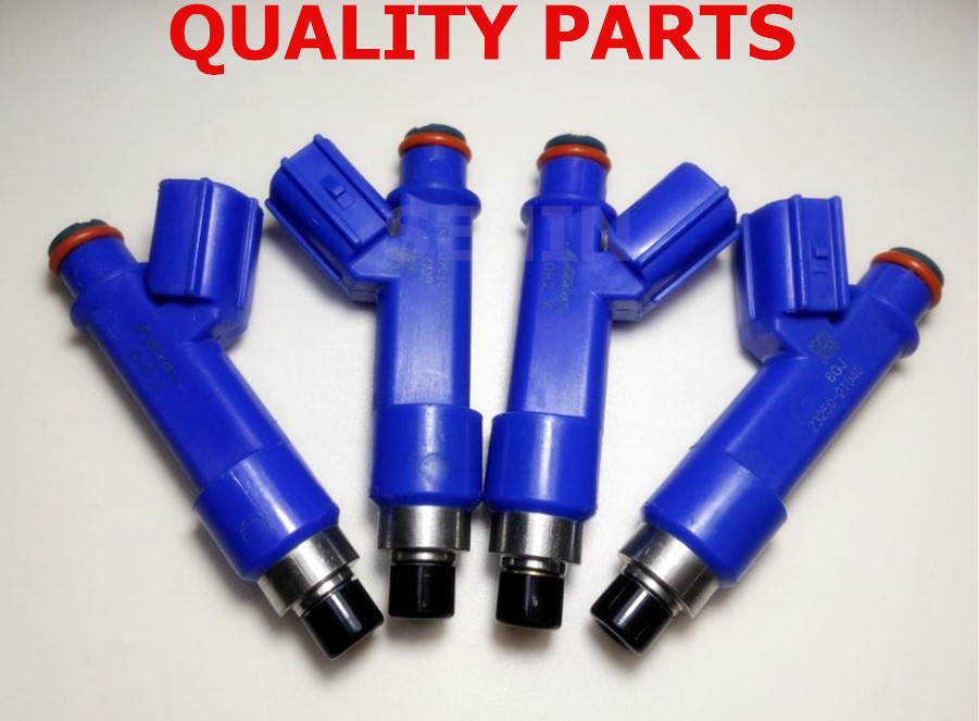 4PCS Fuel Injector 2325021040 2320921040 OEM# 23250-21040 23209-21040 For Toyota Yaris 2006-2014 1.5L L4 1NZFE xd2 pa24 joystick controller spring return joystick switch xd2 pa24cr rotary switches auto reset