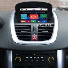 Reproductor de DVD del coche para Peugeot 207 SW CC 2007 2008 2009 2010 2011 2012 2013 2014 GPS de Navegación de Radio estéreo SWC Can Bus USB RDS