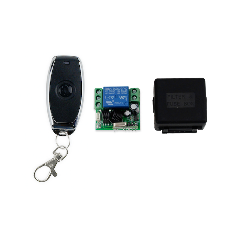 Remote Switch 433MHz metal wireless remote control exit button for door lock access control remote opener