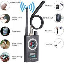 K18 Многофункциональный Анти-шпионский детектор камера GSM аудио ошибка искатель gps сигнал объектив RF Магнитный трекер обнаружения Wi-Fi искатель