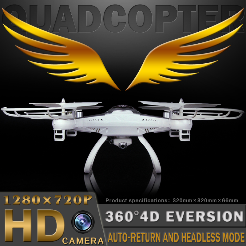 Alta calidad T40 helicóptero Grande DEL RC Drone 2.4G 4CH 6-Axis RC Quadcopter H