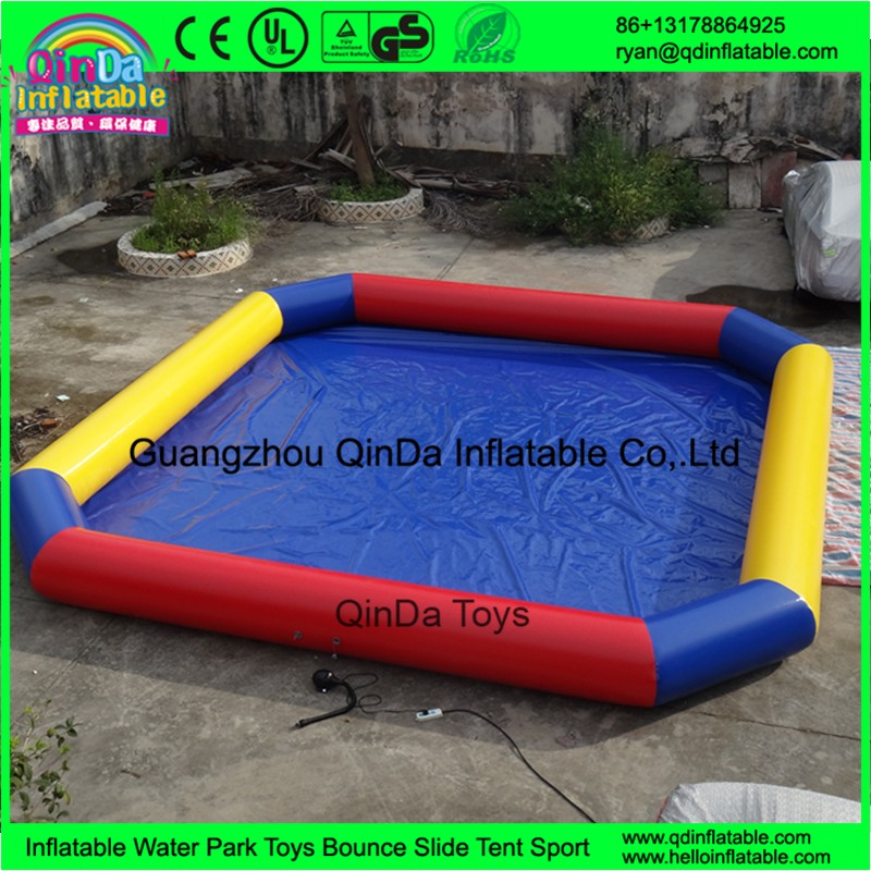 above ground swimming pool inflatable water pool11