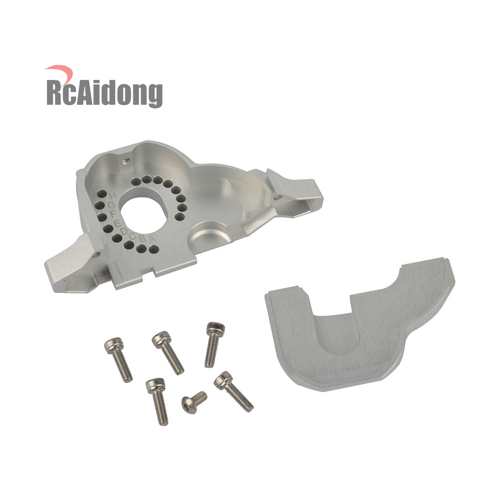 Image 4 - RC 1/10 Aluminum TRX4 Motor Mount Heat Sink for 1/10 RC Traxxas Trx4 TRX 4 Upgrade Parts TRX4 #8290-in Parts & Accessories from Toys & Hobbies