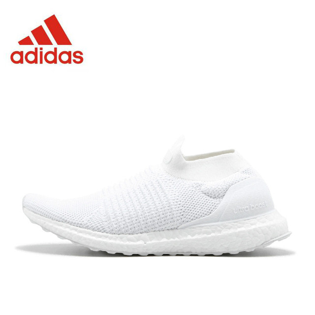 35f43dd80f6 Original New Arrival Official Adidas Ultra BOOST Laceless 4.0 Men s Running  Shoes Sports Sneakers S80768 S80766
