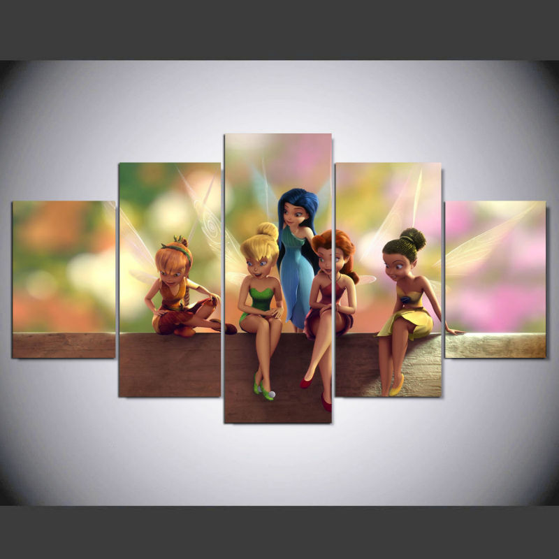 Online Buy Wholesale tinkerbell painting from China tinkerbell ...