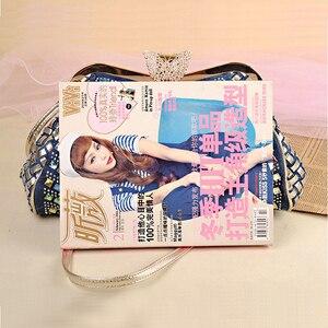 Image 4 - iPinee Ladies Handbags Women Fashion Bags Brand Design Women Shoulder Bags Denim Rhinestones Decorative