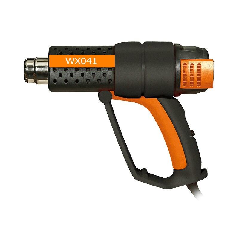 2000 W troisième vitesse thermostat multi-fonction qualité industrielle électrique pistolet à air chaud chauffage pistolet en plastique pistolet de soudage chaude air outil