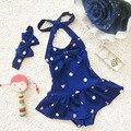 Niñas de una pieza del traje de baño bikini meisje niños ropa de baño niñas trajes de baño traje de baño del bebé niño sirenita ballet