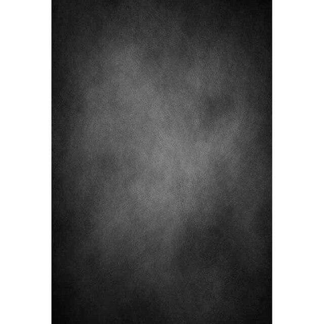 Thin Vinylgewebe Fotografie Hintergrund Computer Druck Schwarz Grau