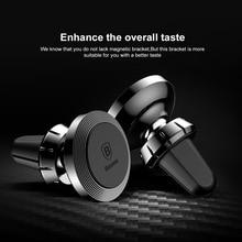 Универсальный автомобильный vent регулируемый кронштейн 360 градусов магнитный держатель телефона для iPhone 5s 6 7 Samsung s6 Оригинальный поп гнездо ладан