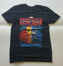 Funko Pop Captain America Civil War T-Shirt X-Small XS Marvel Collector Corps New Fashion Cool Casual T Shirts