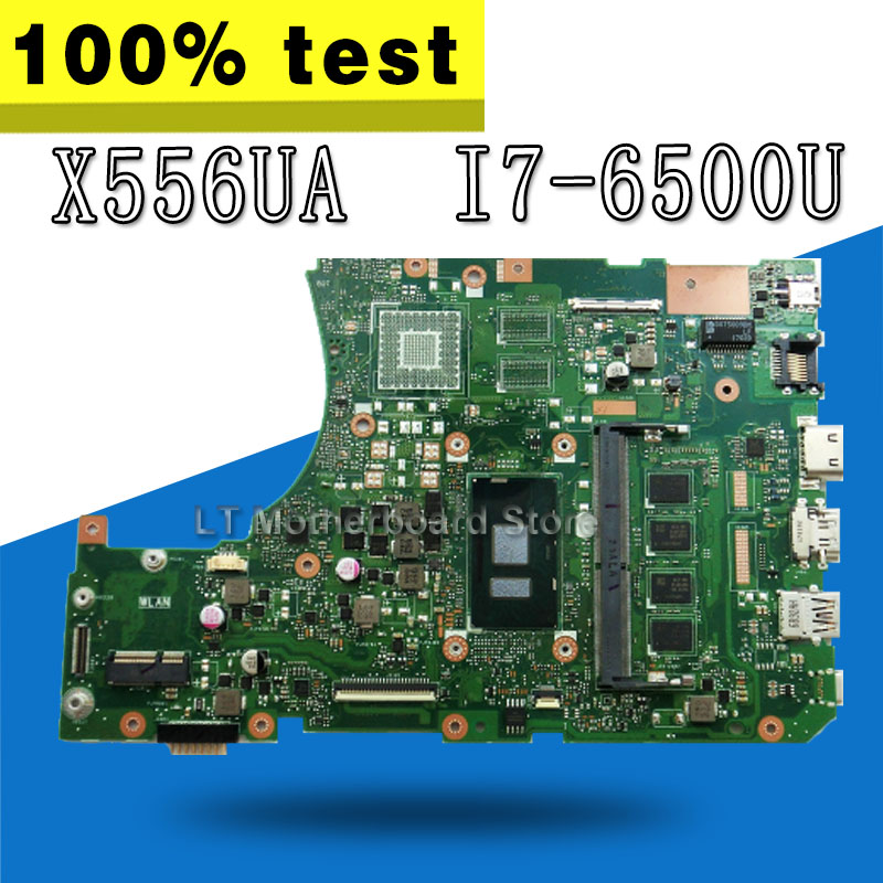 X556UA Motherboard I7-6500U For ASUS X556U X556UJ X556UV Laptop motherboard X556UA Mainboard X556UA Motherboard test 100% OK i7 7500 8gb gt940m rev 3 1 3 0 ddr4 x556uv x556uqk motherboard for asus x556u x556uj x556uf x556ur laptop motherboard mainboard