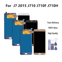 цены на High Quality LCD For Samsung Galaxy J7 2016 J710 SM-J710F J710M J710H J710FN LCD Display With Touch Screen Digitizer Assembly  в интернет-магазинах