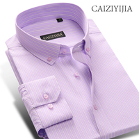 CAIZIYIJIA Size S 4XL Hot Sale Vintage Patchwork Dress Shirt Long Sleeve Floral Button Down Shirt