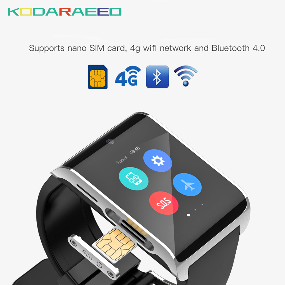 DM2018 smart watch Android 6.0 GPS Sports smartwatch phone 1.54 inch Bluetooth 4.0 Heart Rate Monitor Pedometer PK LEM7 DM98 цена