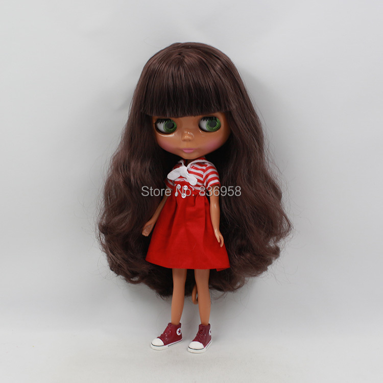 1/6 Nude Doll For Series No .230BL9128 with Bangs Long Brown hair Suitable For DIY Change Toy For Girls цены онлайн
