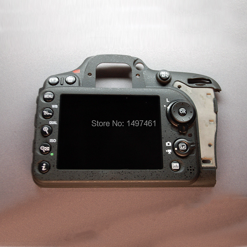 Back cover LCD Display Screen assembly with botton and cable repair parts For Nikon D7100 SLR