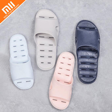 Original Xiaomi One cloud bathroom non-slip leaking slippers light leaky design wear-resistant waterproof slippers