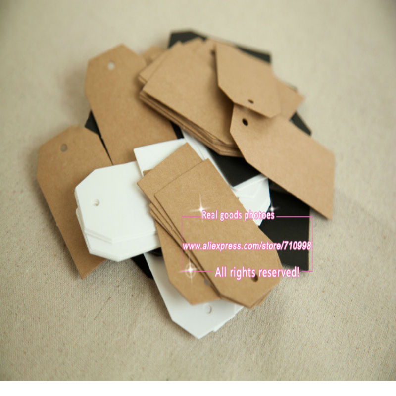 Wedding Gift Card Value : Shape Craft Paper White Hang Tags Wedding Party Label Price Gift Cards ...